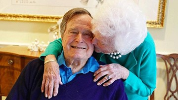 George and Barbara Bush: A love story for the ages