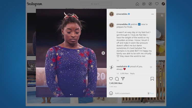 'So many people suffer in silence' | Simone Biles withdrawing from Olympic team final sheds light on mental health