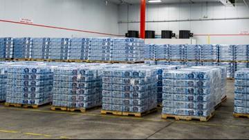 Royal Caribbean sends huge shipment of water, food and generators to the Bahamas