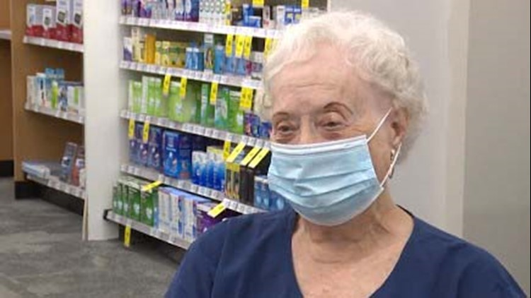 81-year-old woman has been with CVS longer than any other employee nationwide