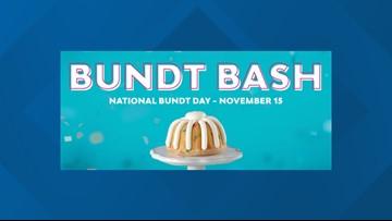 Nothing Bundt Cakes set to give out free bundt cakes on Nov. 15