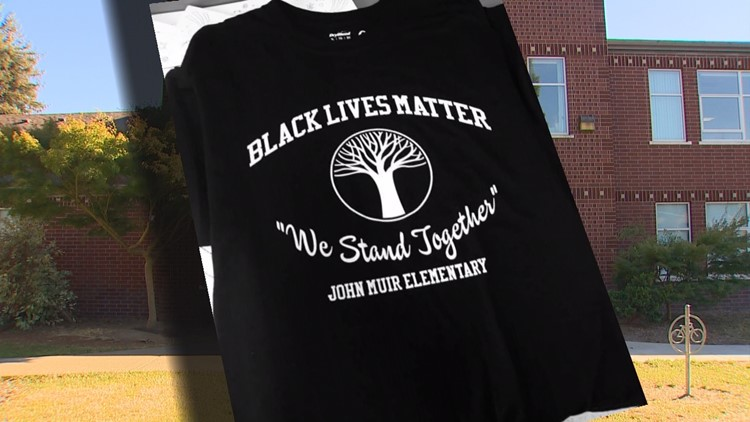2,000 Seattle teachers wear Black Lives Matter shirts to school