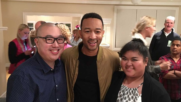 John Legend meets Seattle dad leading student lunch debt campaign