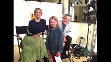 Steve Carell and Kristen Wiig interviewed by 8 year old for Despicable Me 3