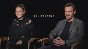 Michael Fassbender and Rebecca Ferguson talk to Evening about making 'The Snowman'