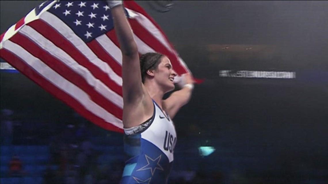 US Olympic profile: Adeline Gray