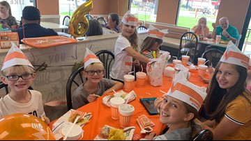 'Best birthday ever': Whataburger staff goes above and beyond to throw party for 6-year-old
