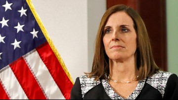 Sen. Martha McSally says superior officer 'preyed upon and raped' her during time in Air Force