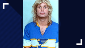 Ozzy Osbourne tweets his St. Louis Blues mug shot