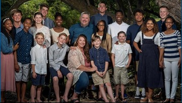 Idaho family with 18 children is battling a devastating diagnosis and leaning on their faith