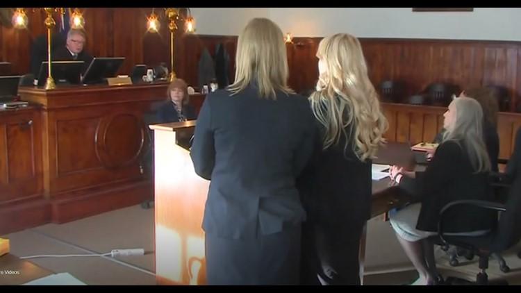 Krystal Kenney in court Friday Feb 8