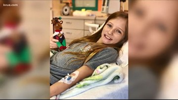 From no cure to no trace | Central Texas girl's inoperable brain tumor disappears