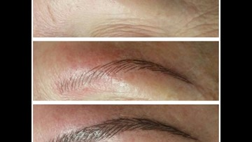 Eyebrow etching is latest beauty trend