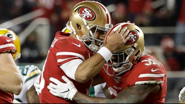 San Francisco 49ers roll past Green Bay Packers to reach franchise's 7th Super Bowl