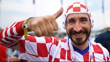 Croatia has World Cup's oddest fashion statement