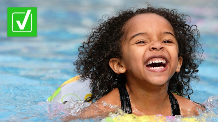 Yes, swimming is safe for kids during the COVID-19 pandemic, but crowded pools could be risky