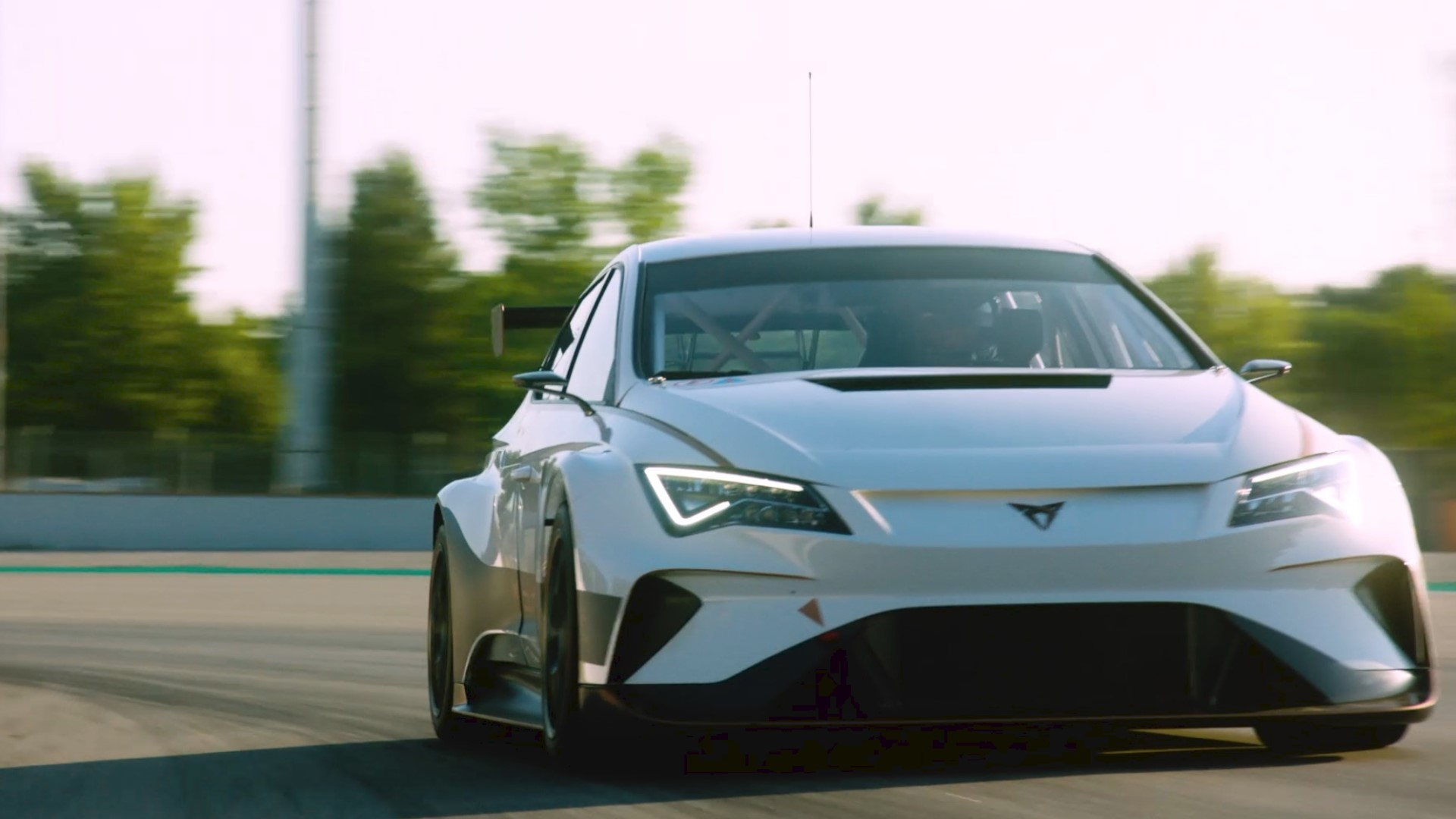 ford mustang mach e suv starts a blitz of new electric vehicles wcnc com world s first zero emissions electric race car takes to the track