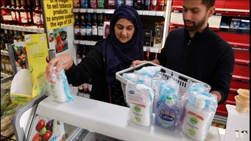 Shopkeepers Try to Keep Elderly Safe From Coronavirus by Giving Away 'Goody Bags' of Sanitizer, Masks