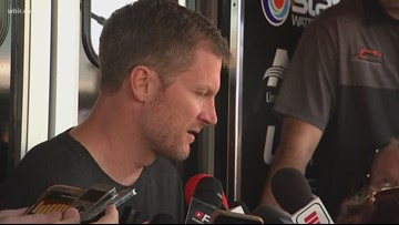 'I feel better every day': Two weeks after Dale Earnhardt Jr.'s Tennessee plane crash, he is ready to race again