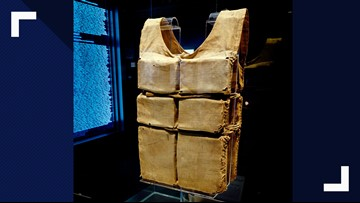 World's largest collection of remaining Titanic life jackets on display in Pigeon Forge