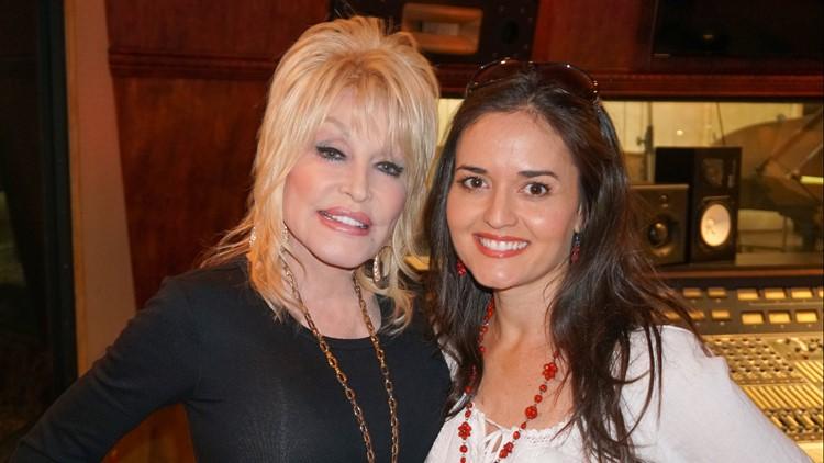 Dolly Parton and Danica McKellar