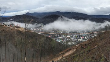 The longest pedestrian suspension bridge in North America will open this spring in Gatlinburg