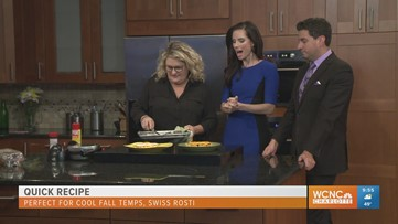 Chef Jenny cooks up quick dishes perfect for cool fall temperatures