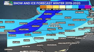 How much snow will Charlotte get this year? Brad's winter forecast