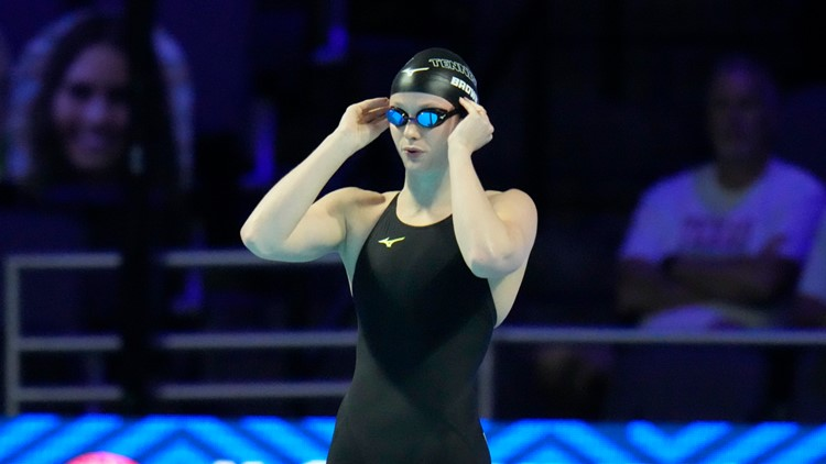 Erika Brown fails to qualify for women's 100m freestyle semis