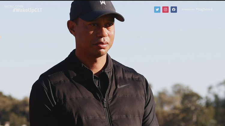 Tiger Woods recovering after car wreck in California