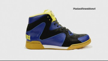 Planters Peanuts launches 'Crunch Force 1' basketball sneakers