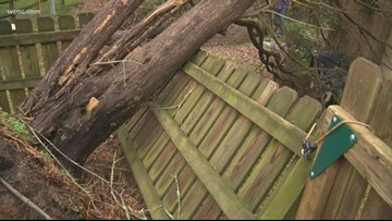 Carolinas pummeled by Saturday's severe weather