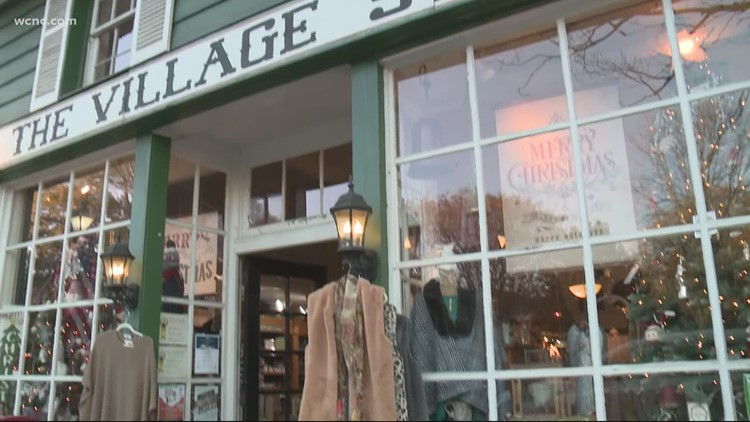 Small businesses trying to bounce back with holiday shopping