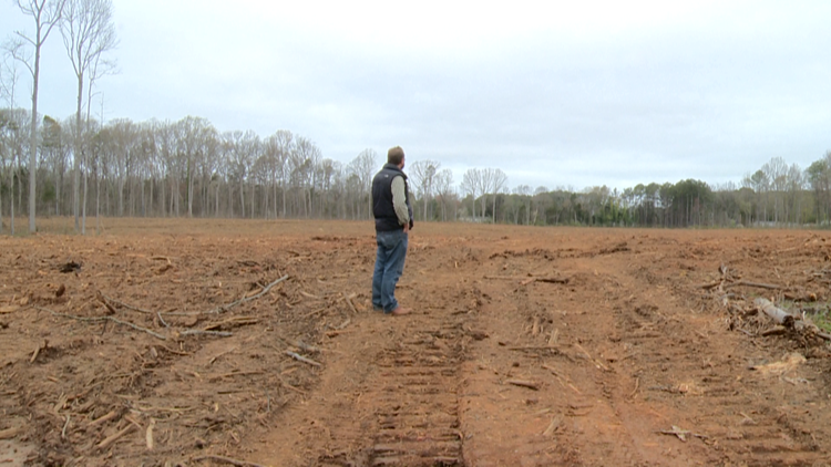 'It gets really scary': With available farmland quickly diminishing around Charlotte, one group is fighting to save it