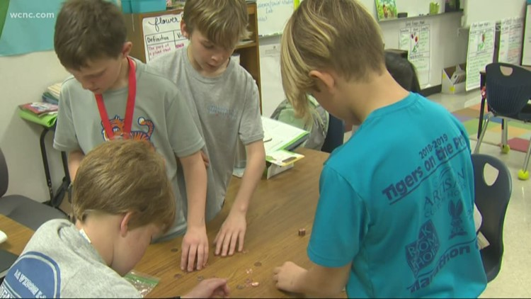 Pennies for Patients: Students save up to fight cancer