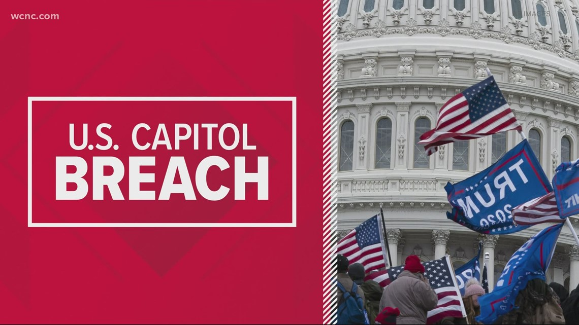 Gaston County man facing charges after Capitol breach