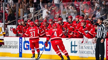 Jurco's winner seals Game 2 for Charlotte Checkers