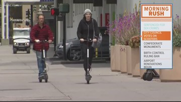 Charlotte City Council to vote on scooter regulations