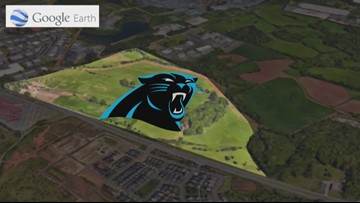 Panthers new HQ could go to Fort Mill; would light rail follow?