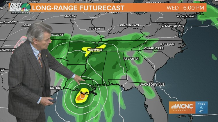 Hurricane Zeta Update: 11:30 AM Wednesday