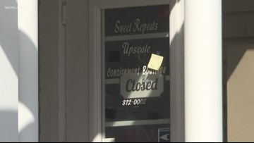 Consignment shop owner in Dilworth fends off armed robber with can of mace