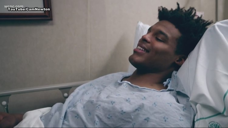 Cam Newton gives update on surgery in new YouTube Video