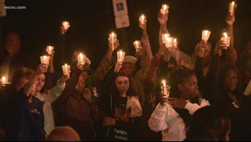 Dozens gather to grieve and remember Bobby McKeithen