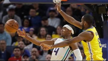 Charlotte Hornets hold off Warriors 93-87
