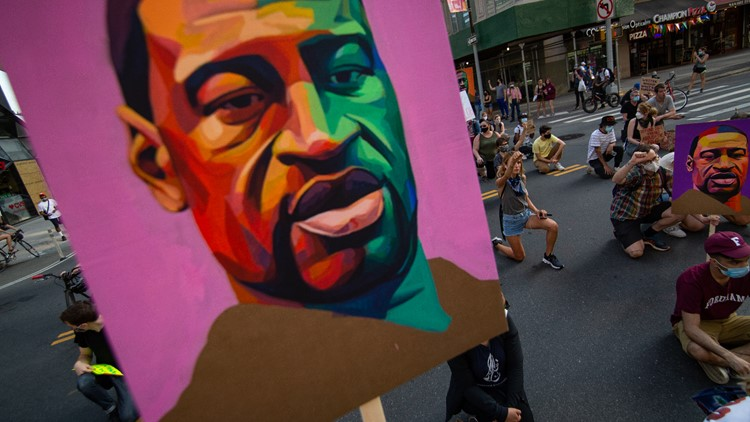 Artist showcases photos of nationwide Black Lives Matter protests one year later