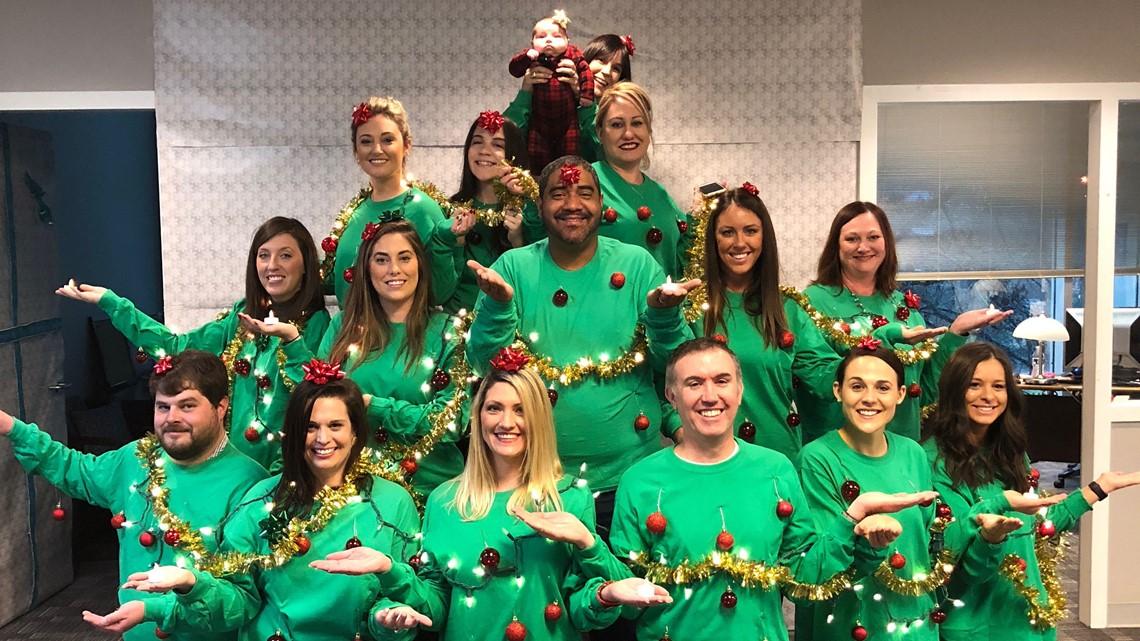 NBC Charlotte holiday tree challenge