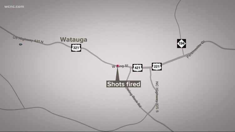 Police investigating a shooting in Boone