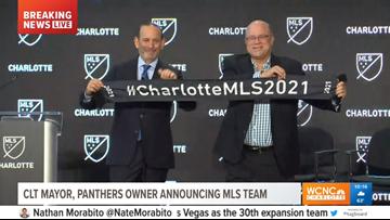 LIVE BLOG: MLS announces Charlotte soccer team