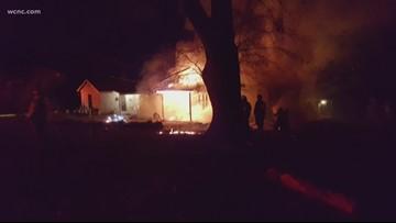 Fire destroys Gaston County home