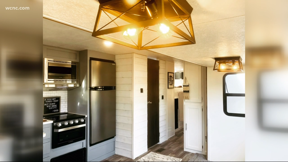 Tiny Home Designs: Charlotte Family Of Seven Downsizes To Tiny-home On Wheels